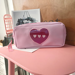 HEART MAKEUP POUCH