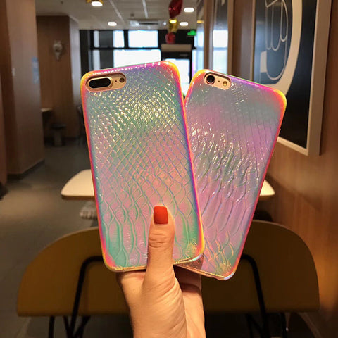 RAINBOW DRAGON SKIN CASE (I6 I6+ I7 I7+ I8 I8+ IX XR)