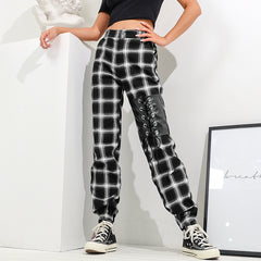 STRAP DESIGN CASUAL PANTS