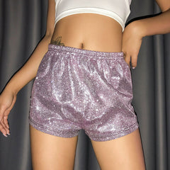 BLING PARTY CLUB GLITTER SHORTS