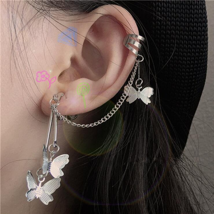FROSTY COOL BUTTERFLY EARRINGS