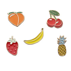 FRUITY PINS (SET/5PCS)