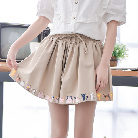 RETRO CATS SKIRT