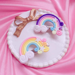 LOLITA RAINBOW CLOUD HAIR CLIP