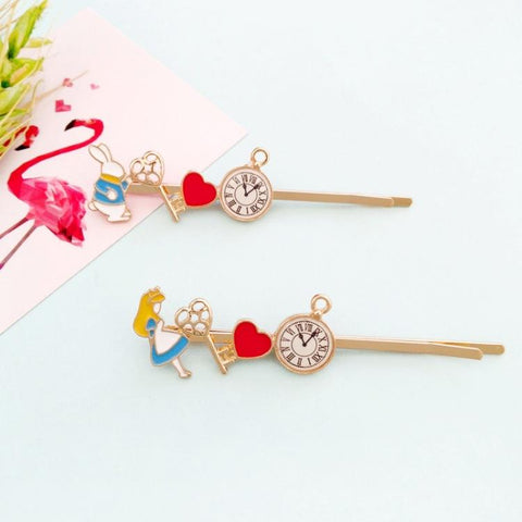 ALICE FANTASY BUNNY HAIR CLIP (2PCS)