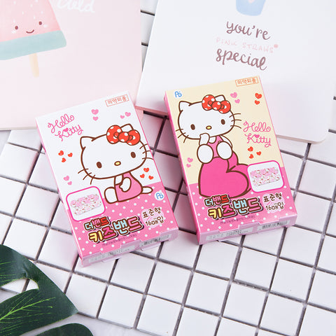 HELLO KITTY BAND-AID SET (16 PCS)