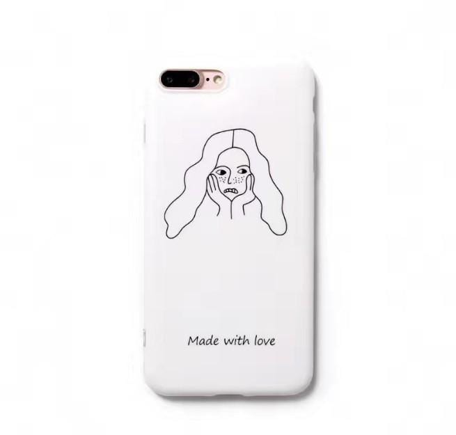 MADE WITH LOVE CASE (I6 I6+ I7 I7+ I8 I8+ IX)