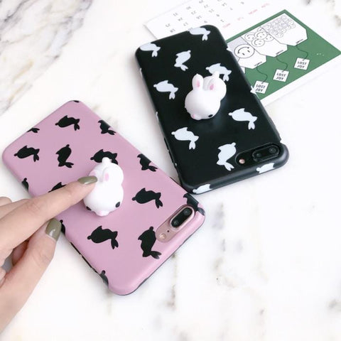 SQUISHY RABBIT CASE (I6 I6+ I7 I7+)