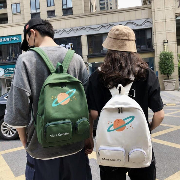 Ulzzang Planet Backpack by Dog Dog