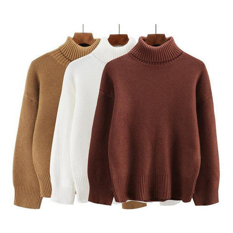 BASIC TURTLENECK KNITTED