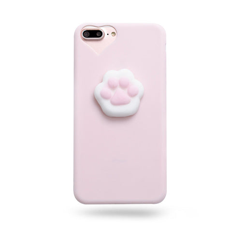 SQUISHY PAW CASE (I6 I6+ I7 I7+)