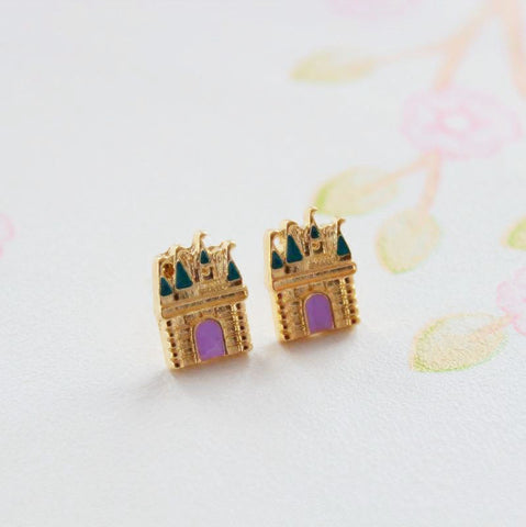 PRINCESS CASTLE EARRINGS