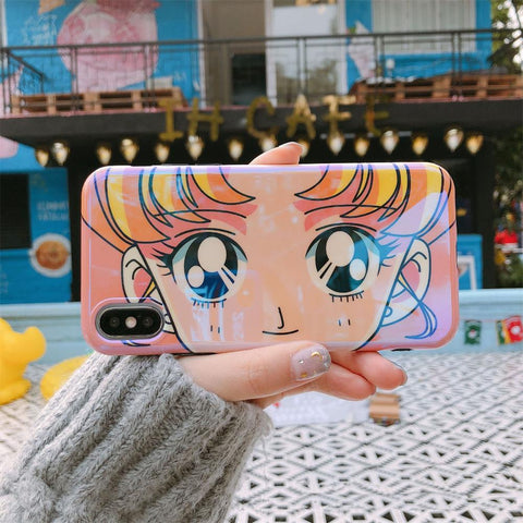 SAILOR MOON USAGI EYES CASE (I6 I6+ I7 I7+ I8 I8+ IX)