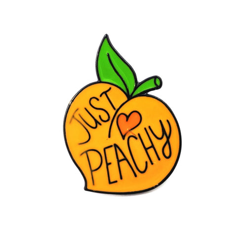 JUST PEACHY PINS (SET/2PCS)