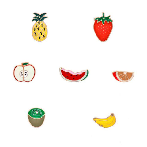 FRUITY PINS (SET/7PCS)