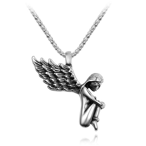GIRL WINGS NECKLACE