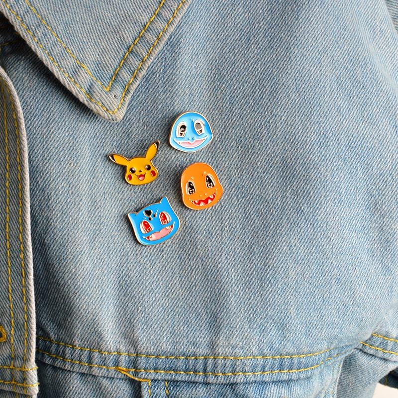 POKEMON PINS (SET/4PCS)
