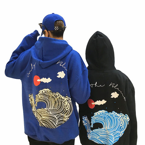 CRASHING WAVES HOODIES