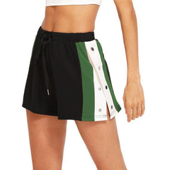 HINT ON GREEN SHORTS