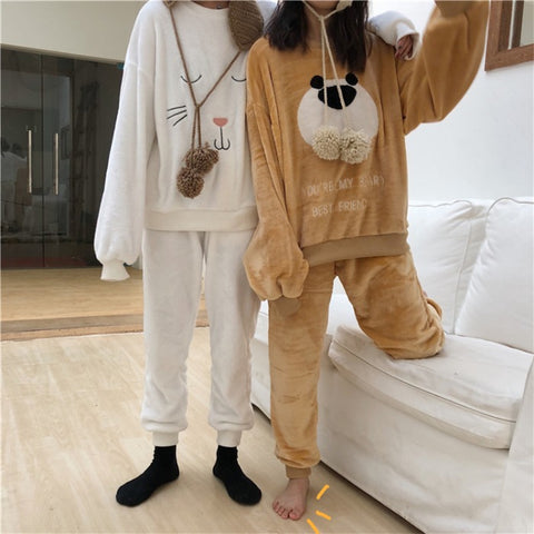 BEAR AND RABBIT PAJAMAS