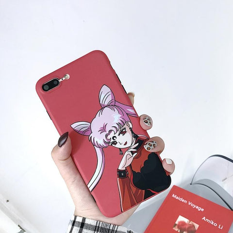 DARK LADY PORTRAIT CASE (I6 I6+ I7 I7+ I8 I8+ IX XR)