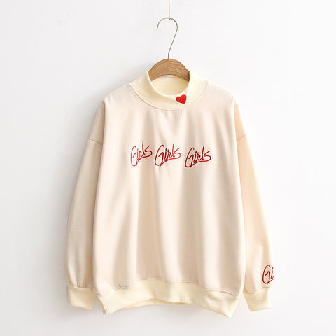 HEART GIRL SWEATER