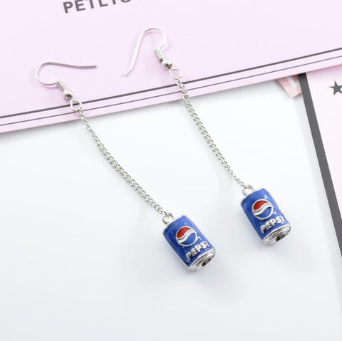 COKE & PEPSI EARRINGS SET