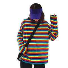 RAINBOW LONG SLEEVE TOP