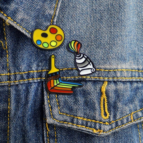PAINT ME GAY PINS (SET/3PCS)