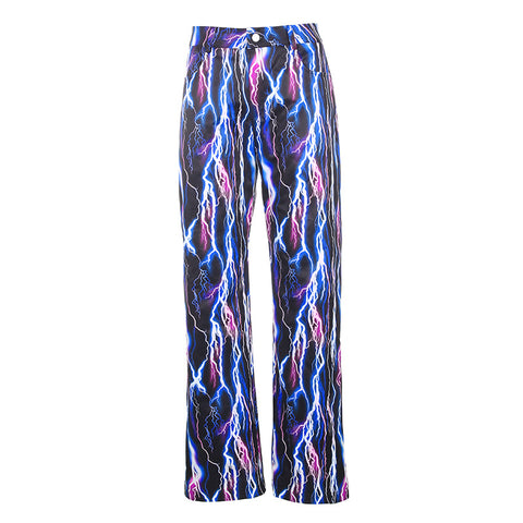 BLUE LIGHTNING PANTS