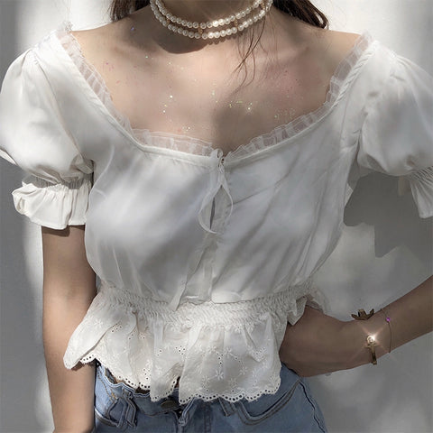 ANGELIC OFF SHOULDER TOP