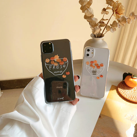 FRESH ORANGE IPHONE CASE