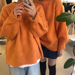 SOLID COLOUR KNITTED