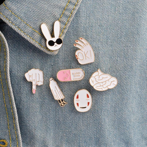CREEPED PINS (SET/7PCS)
