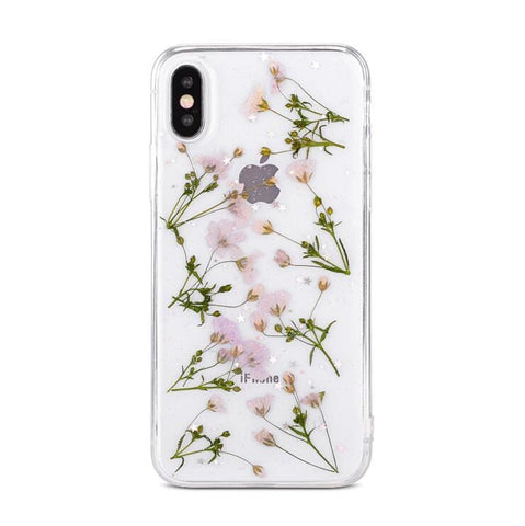 PRESSED FLOWER CASE(I6 I6+ I7 I7+ I8 I8+ IX)