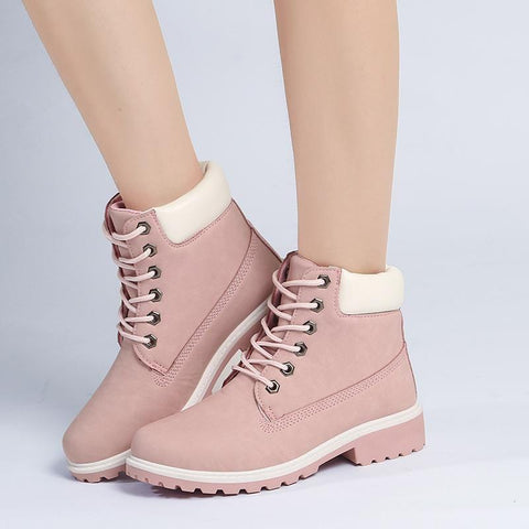 PINK WIND BOOTS (4.5-9.5)