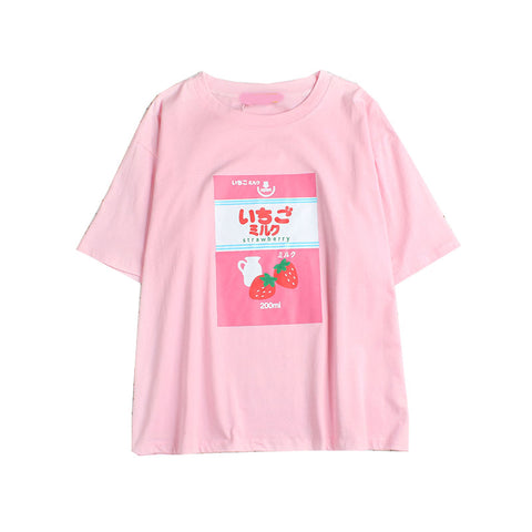 PINK STRAWBERRY TOP
