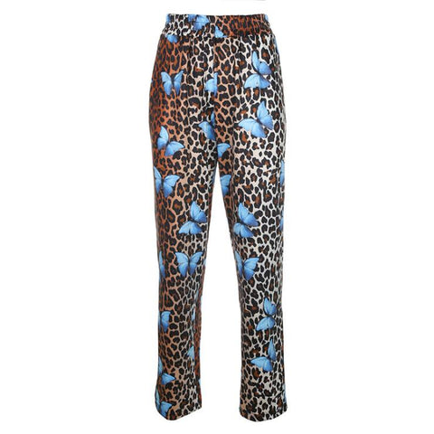 LEOPARD BUTTERFLY PANTS