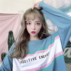POSITIVE ENERGY LONG SLEEVE TOP