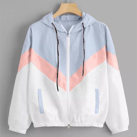 PASTEL LIGHTWEIGHT WINDBREAKER