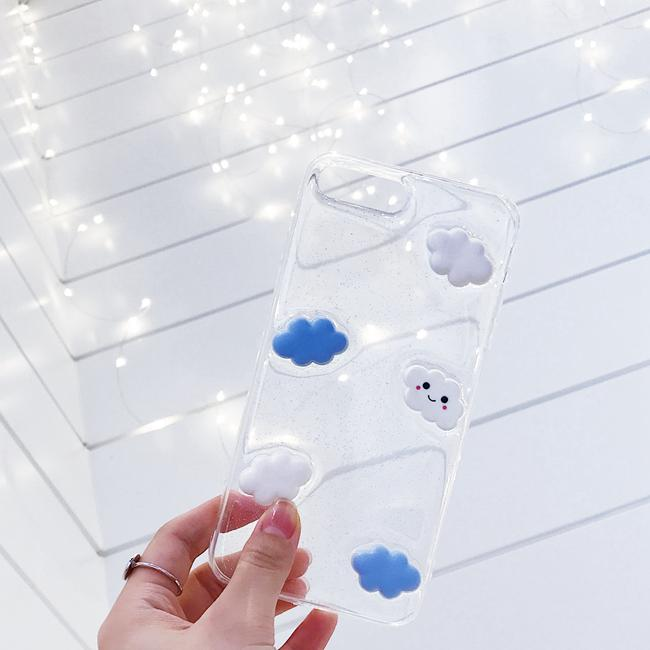 TRANSPARENT CLOUD CASE (I6 I6+ I7 I7+)