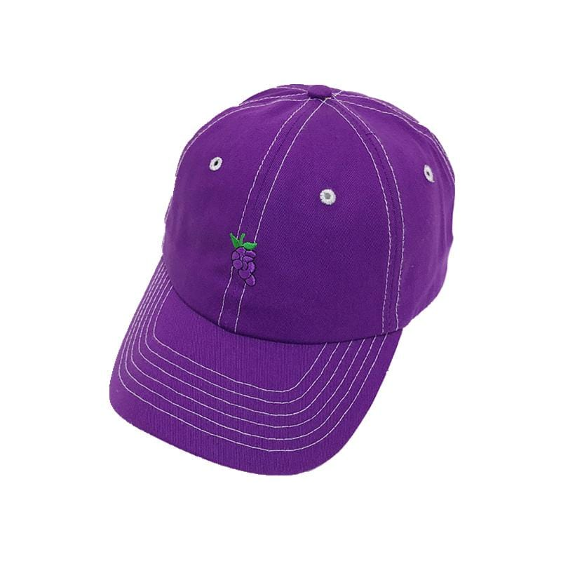 PURPLE GRAPE HAT
