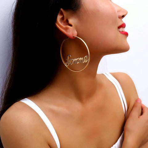 FEMME HOOPS EARRINGS