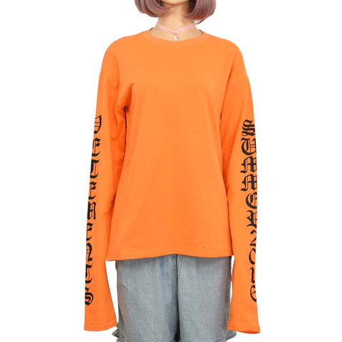 LONG SLEEVE ORANGE JUMPER