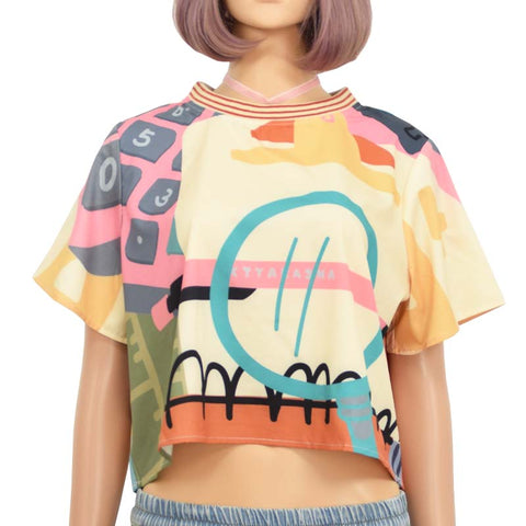 STATIONARY CROP TOP