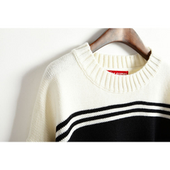 STRIPED KNITTED