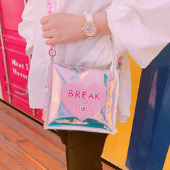 BREAK OUT GIRLS MESSENGER BAG
