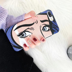 CARTOON EYES CASE (I6 I6+ I7 I7+ I8 I8+ IX)