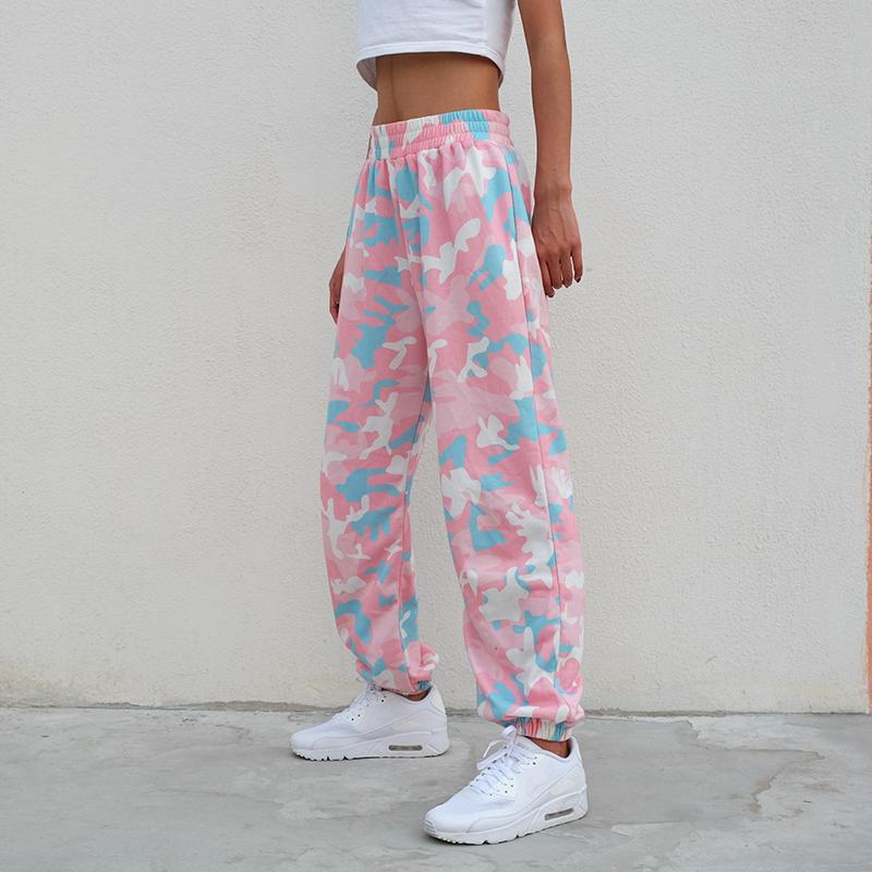 PINK COLORFUL PANTS