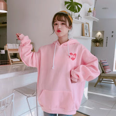 MILK STRAWBERRY HOODIE